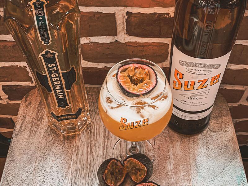 Cocktail Sainte Suzanne ingrédients